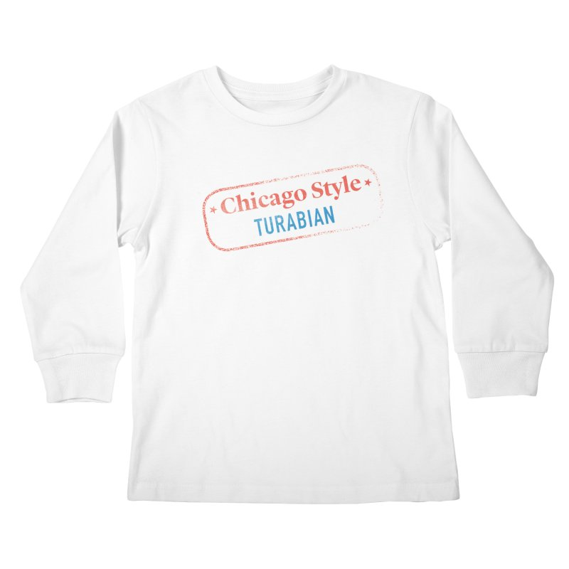 Stamp of Approval Kids Longsleeve T-Shirt by Chicago Manual of Style