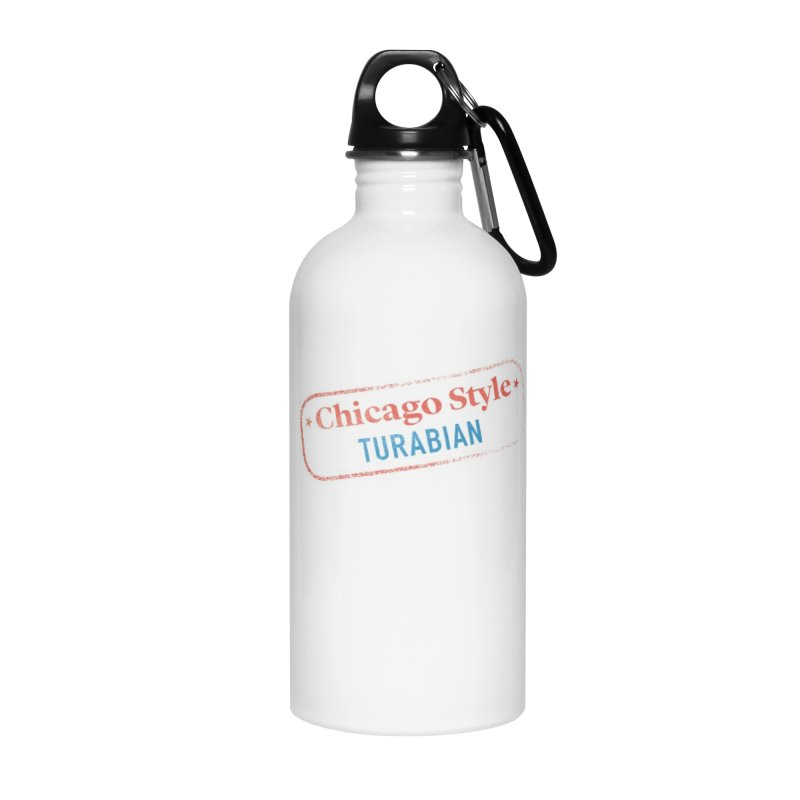 Stamp of Approval Accessories Water Bottle by Chicago Manual of Style