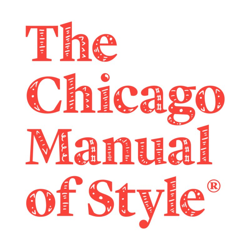 Classic Logo, Red Whimsy Kids Baby T-Shirt by Chicago Manual of Style