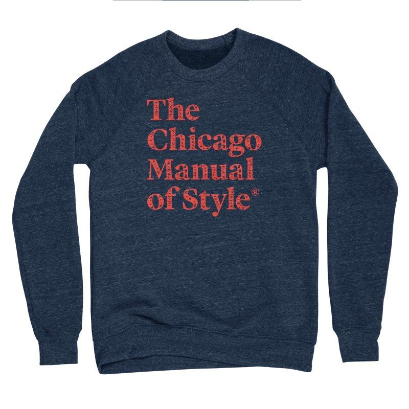 Classic Logo, Red Whimsy Women's Sponge Fleece Sweatshirt by Chicago Manual of Style