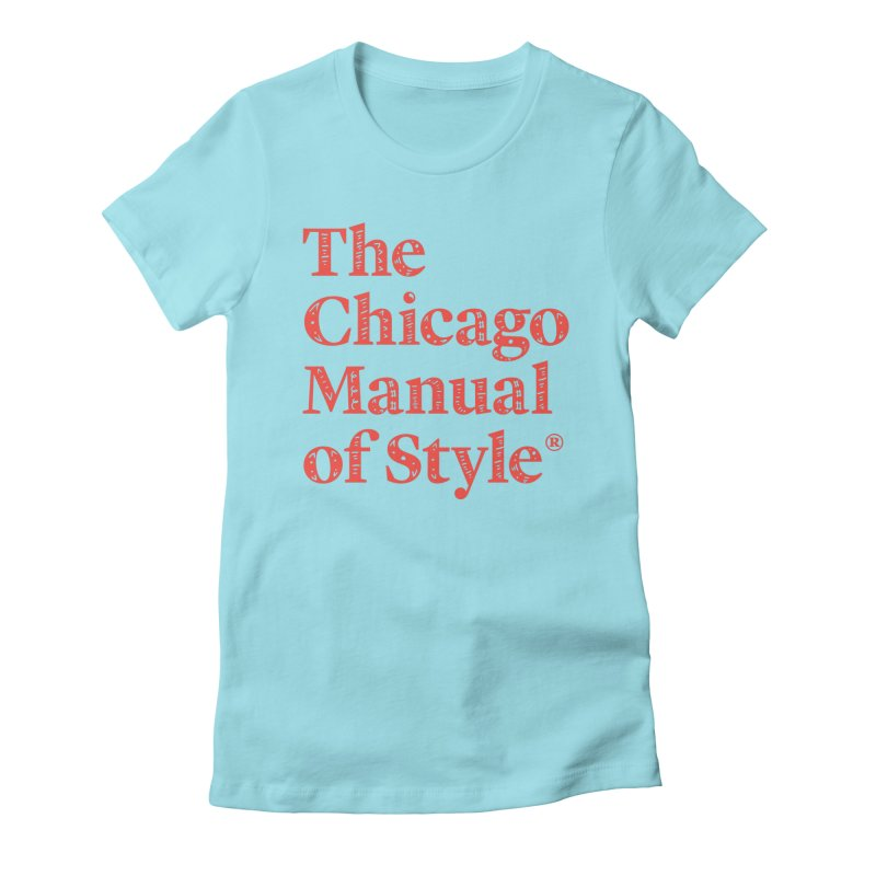 Classic Logo, Red Whimsy Women's T-Shirt by Chicago Manual of Style