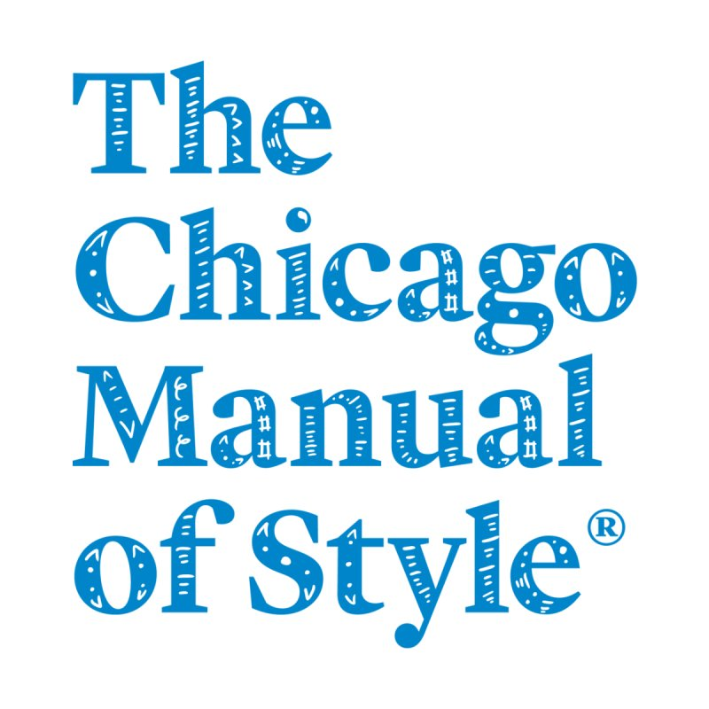 Classic Logo, Blue Whimsy by Chicago Manual of Style