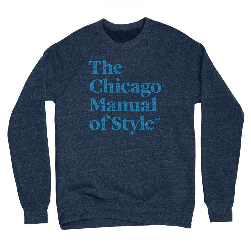 Classic Logo, Blue Whimsy Women's Sponge Fleece Sweatshirt by Chicago Manual of Style
