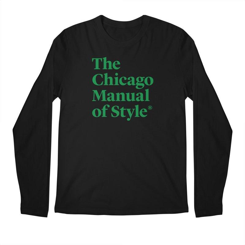 Irish Eyes Are Smiling Men's Regular Longsleeve T-Shirt by Chicago Manual of Style