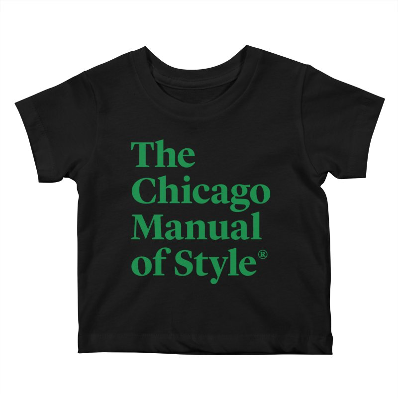 Irish Eyes Are Smiling Kids Baby T-Shirt by Chicago Manual of Style