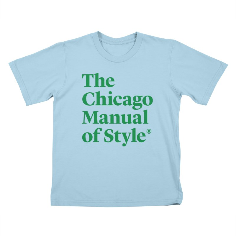 Irish Eyes Are Smiling Kids T-Shirt by Chicago Manual of Style