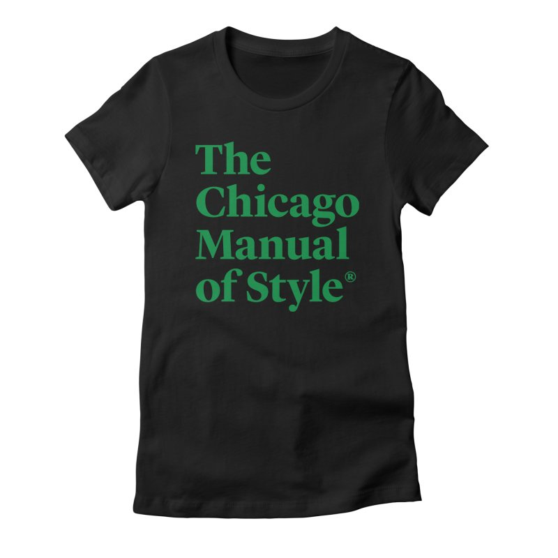Irish Eyes Are Smiling Women's Fitted T-Shirt by Chicago Manual of Style