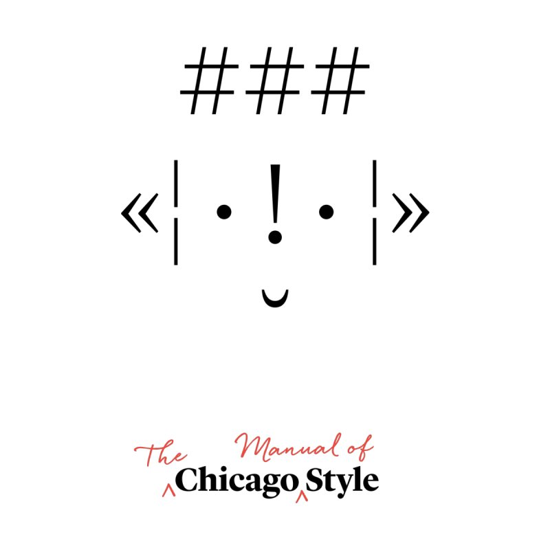 Chicago Style Buddy, Black + Red / Kids' Apparel by Chicago Manual of Style