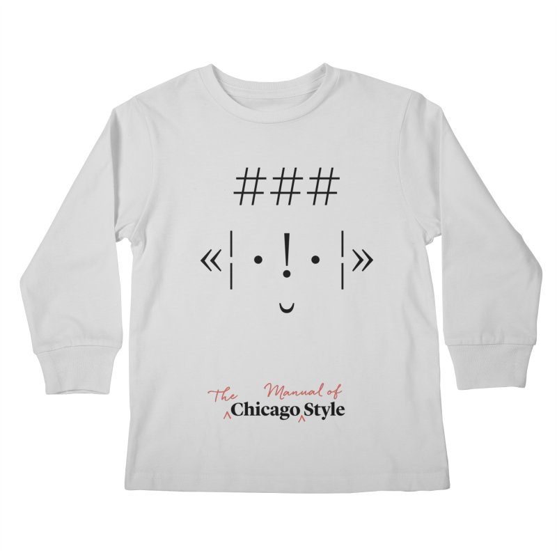 Shop Kids Longsleeve T-Shirt | Chicago Manual of Style
