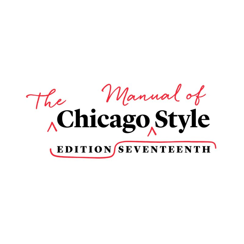 Chicago Style, Black + Red, Accessories Accessories Water Bottle by Chicago Manual of Style