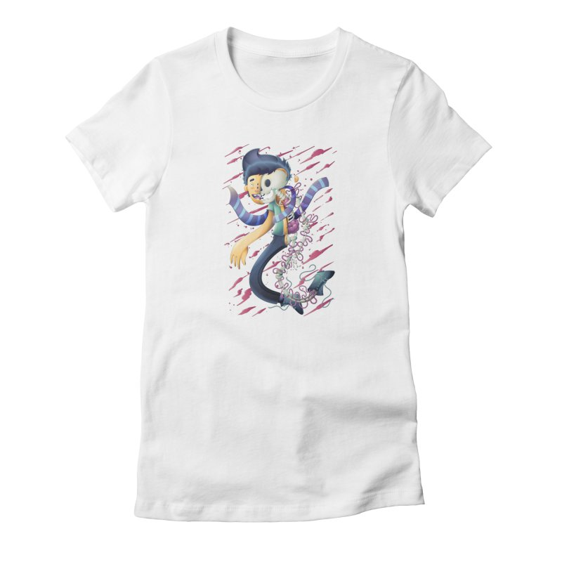 Half dude Women's T-Shirt by Chiclobite!