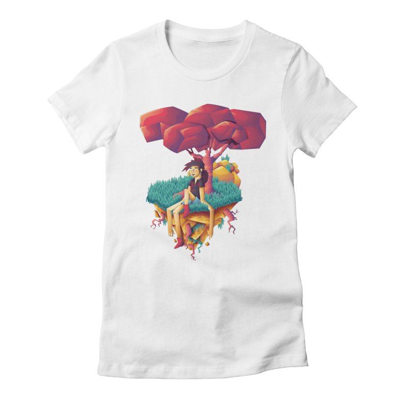 Summer Women's Fitted T-Shirt by Chiclobite!