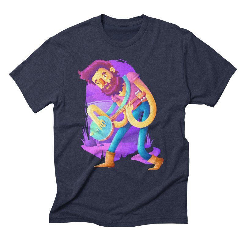 Banjo Men's Triblend T-Shirt by Chiclobite!