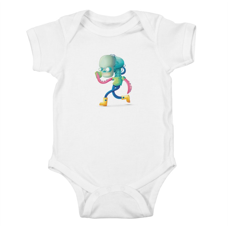 Alien Kids Baby Bodysuit by Chiclobite!