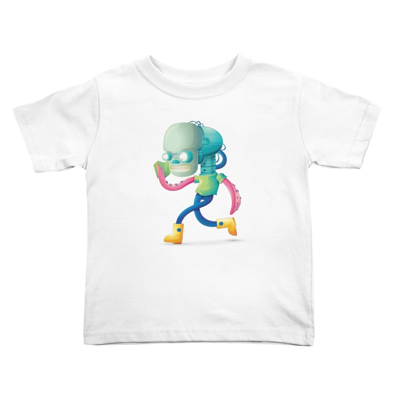 Alien Kids Toddler T-Shirt by Chiclobite!