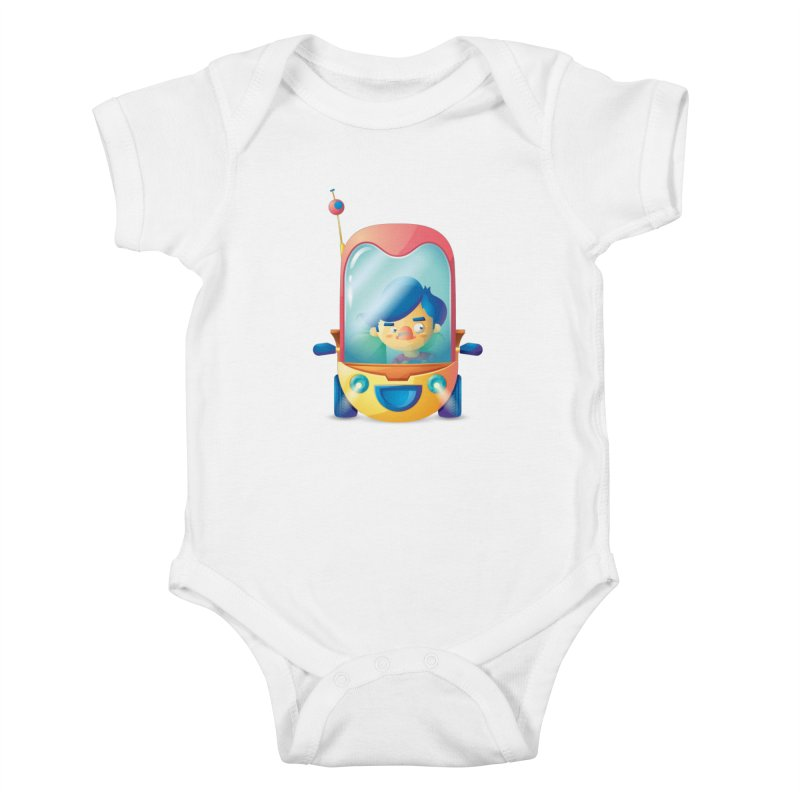 Car Kids Baby Bodysuit by Chiclobite!