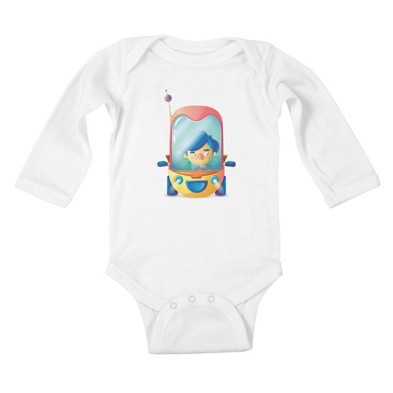 Car Kids Baby Longsleeve Bodysuit by Chiclobite!