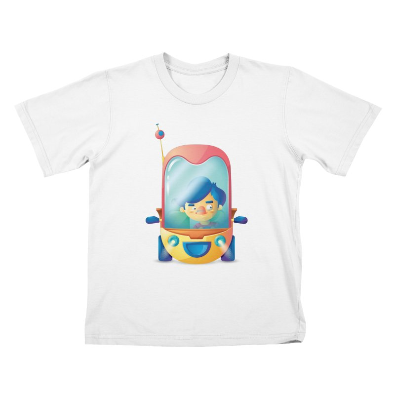 Car Kids T-shirt by Chiclobite!