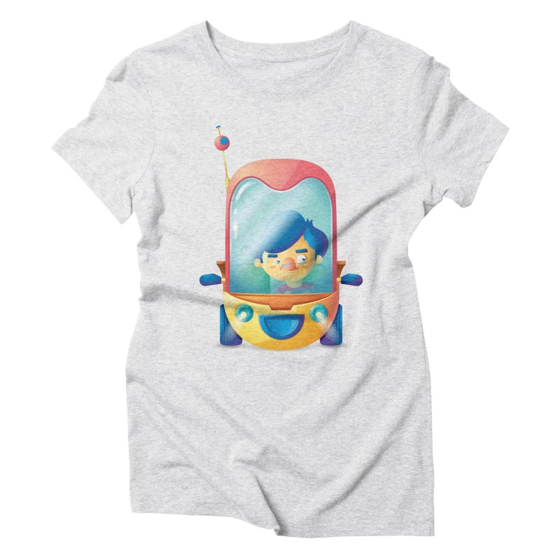 Car Women's Triblend T-shirt by Chiclobite!