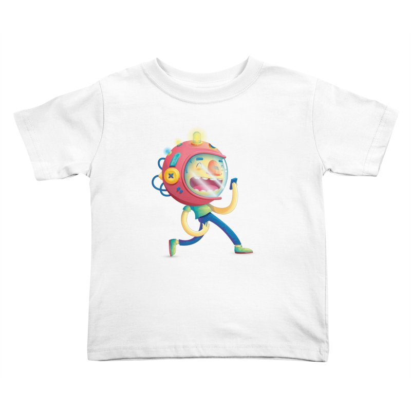 Cosmonaut Kids Toddler T-Shirt by Chiclobite!