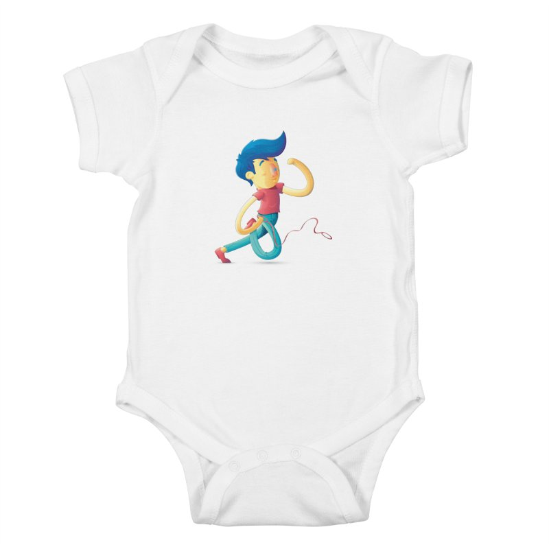 Dog Kids Baby Bodysuit by Chiclobite!