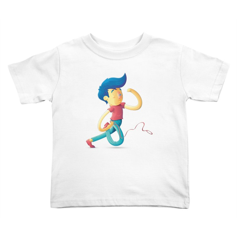 Dog Kids Toddler T-Shirt by Chiclobite!