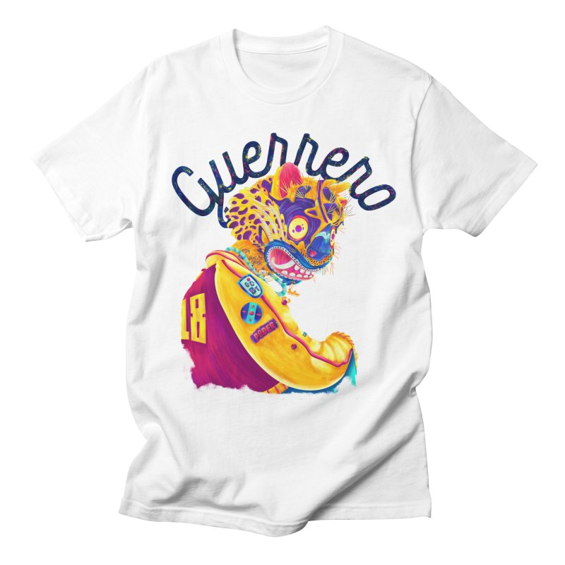 Jaguar Guerrero Men's T-Shirt by Chiclobite!