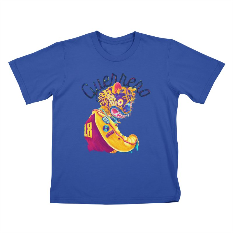 Jaguar Guerrero Kids T-Shirt by Chiclobite!