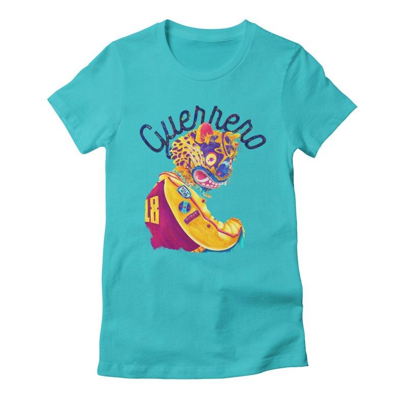 Jaguar Guerrero Women's Fitted T-Shirt by Chiclobite!