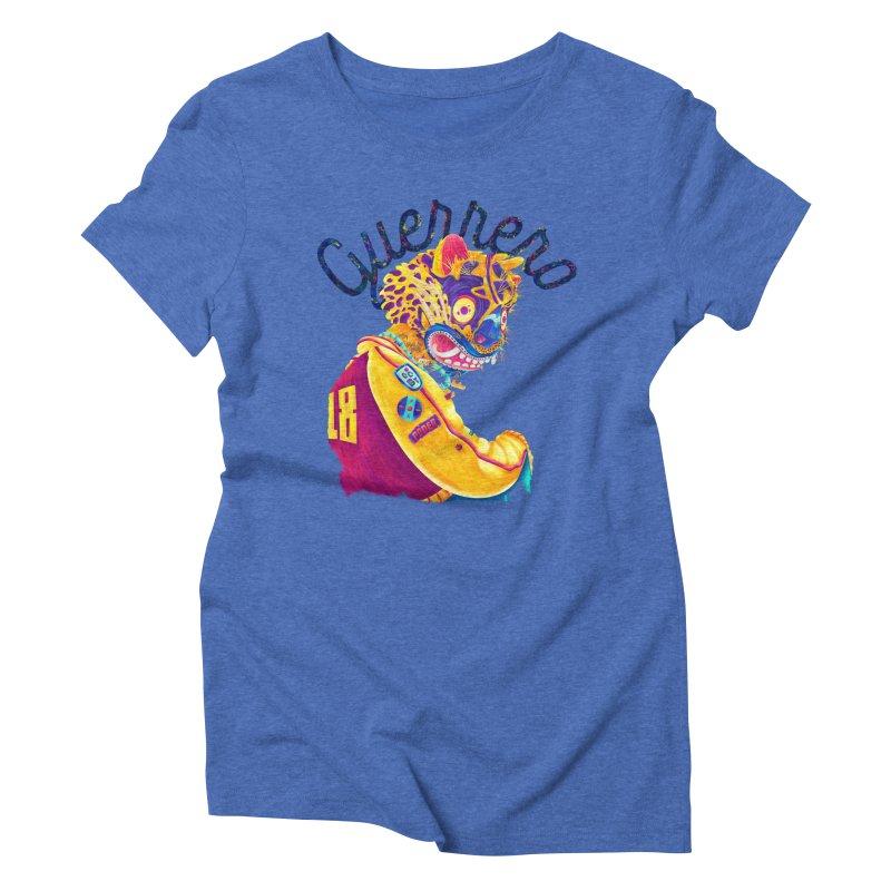 Jaguar Guerrero Women's Triblend T-Shirt by Chiclobite!