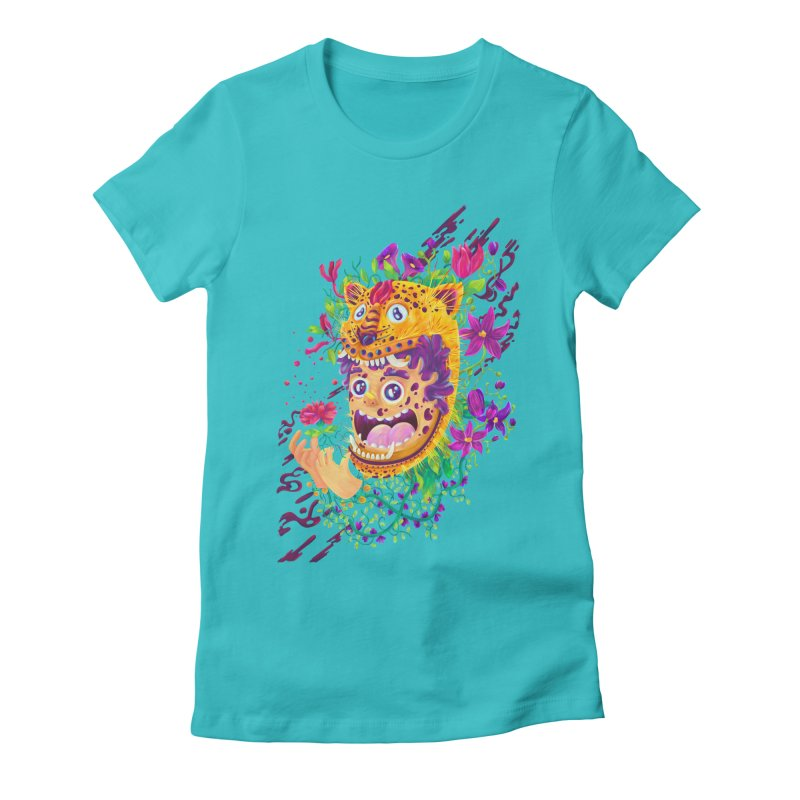 Mask 02 Women's Fitted T-Shirt by Chiclobite!