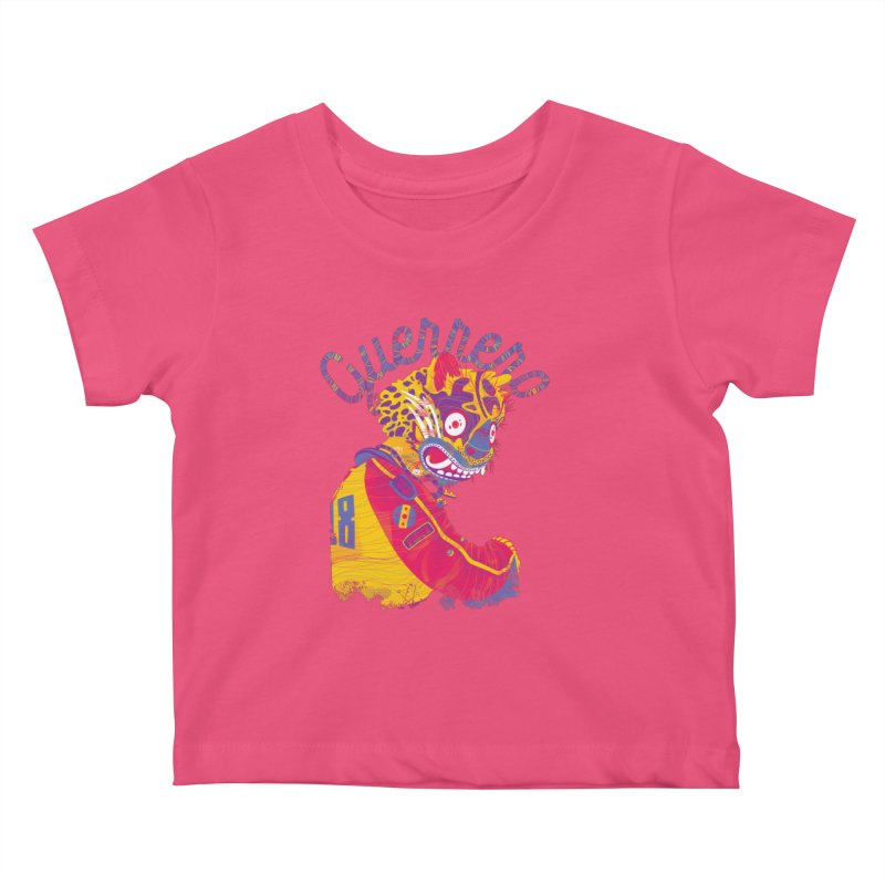 Jaguar bebé Kids Baby T-Shirt by Chiclobite!
