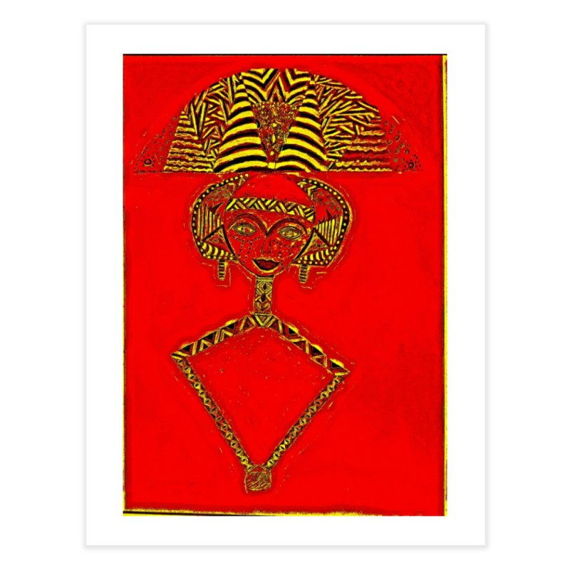Bakota Doll Home Fine Art Print by Symbols of Communicatios