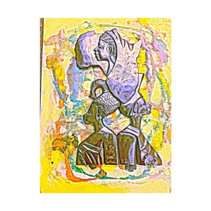Aboriginal Aficans Home Fine Art Print by Symbols of Communicatios