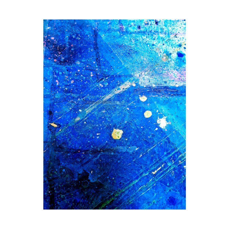 In The Deep Blue Sea Home Fine Art Print by Symbols of Communicatios