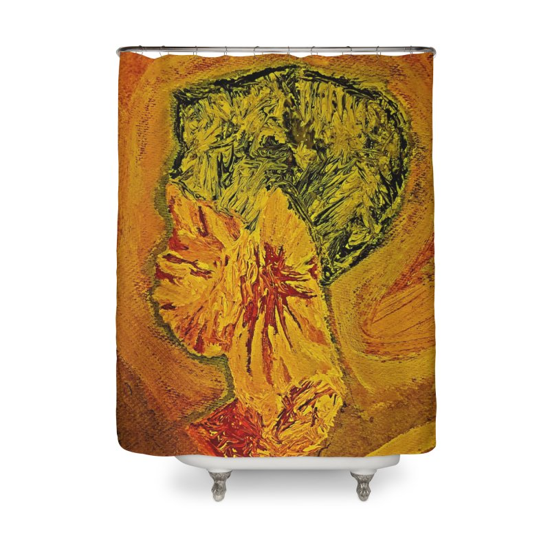 Girl Culture Home Shower Curtain by Symbols of Communicatios