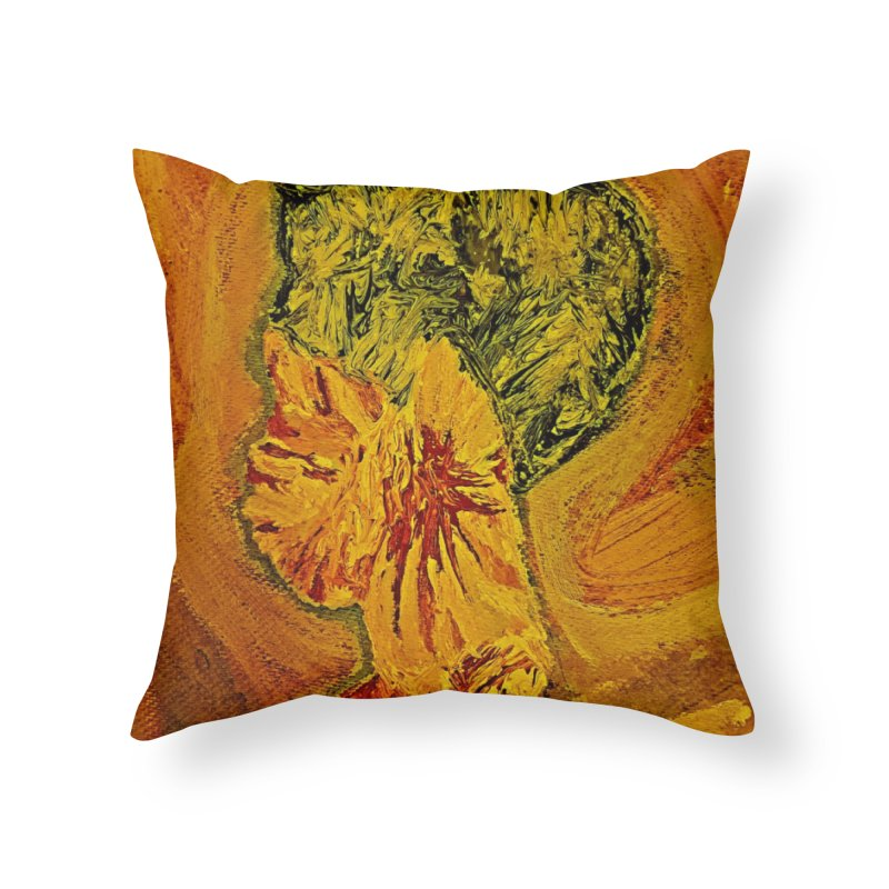 Girl Culture Home Throw Pillow by Symbols of Communicatios