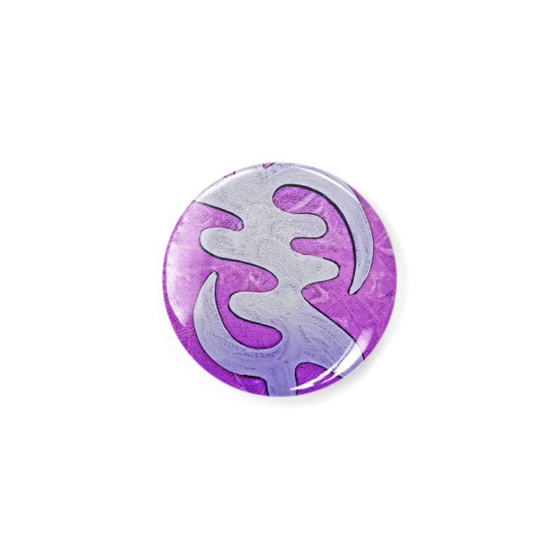 By his Grace Accessories Button by Symbols of Communicatios