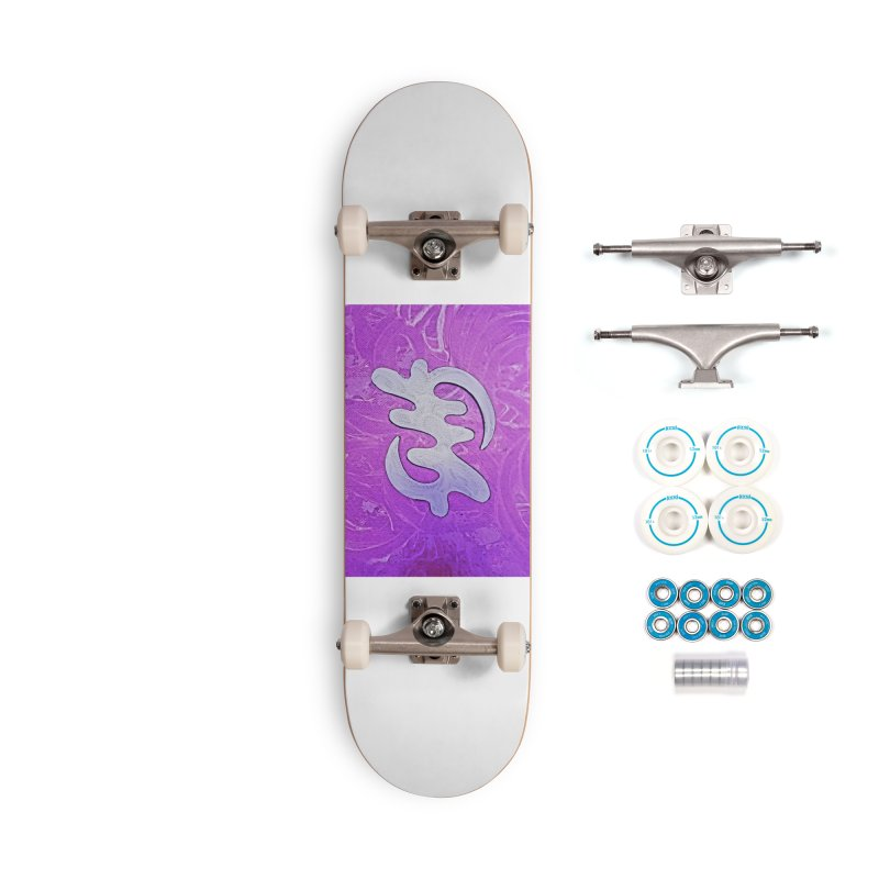 By his Grace Accessories Skateboard by Symbols of Communicatios