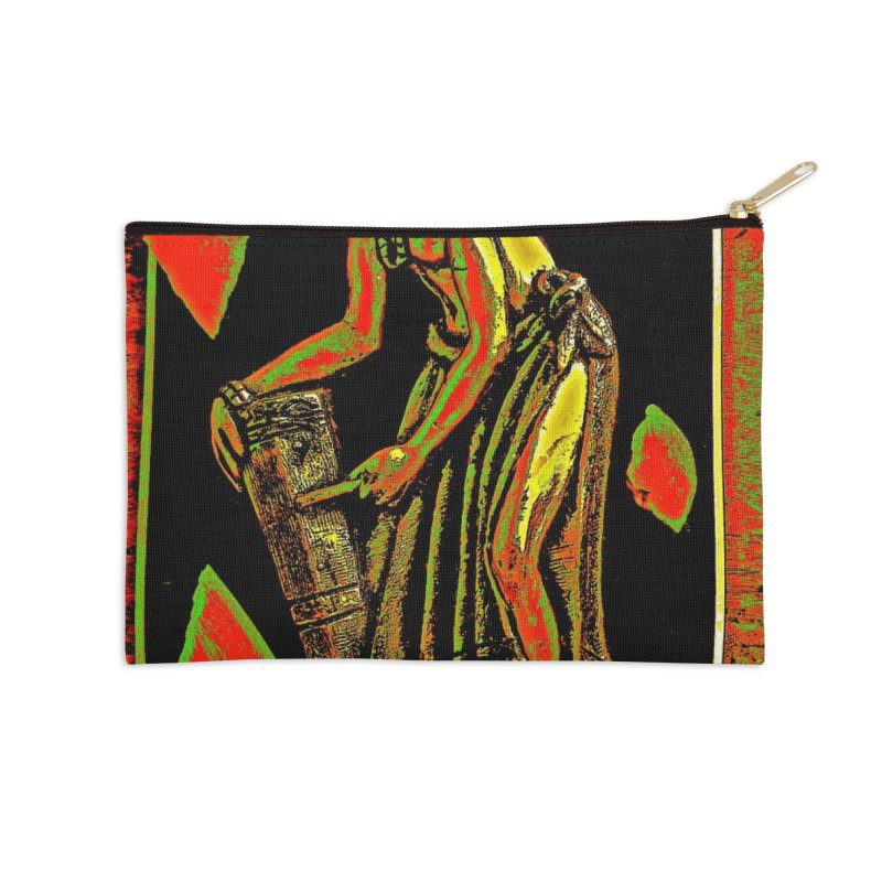 The Drummer Accessories Zip Pouch by Symbols of Communicatios