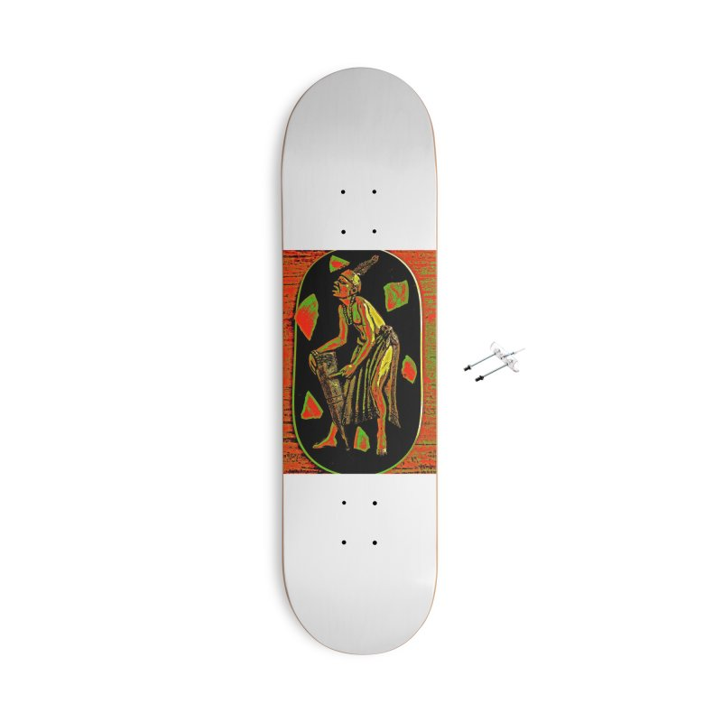 The Drummer Accessories Skateboard by Symbols of Communicatios