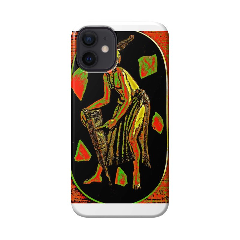 The Drummer Accessories Phone Case by Symbols of Communicatios