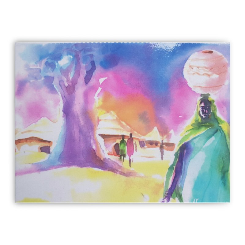 Water water Home Stretched Canvas by Symbols of Communicatios