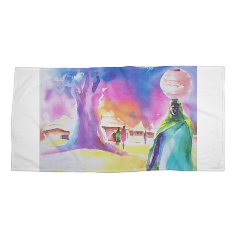 Water water Accessories Beach Towel by Symbols of Communicatios