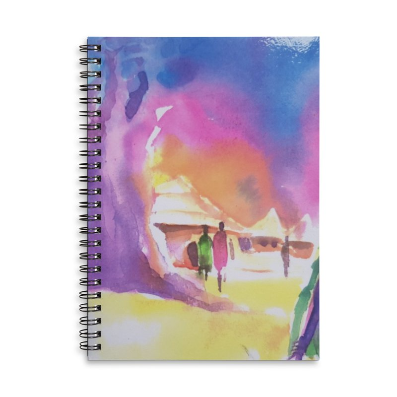 Water water Accessories Notebook by Symbols of Communicatios