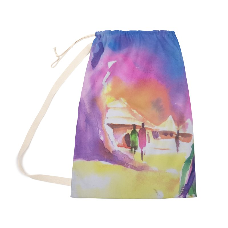 Water water Accessories Bag by Symbols of Communicatios