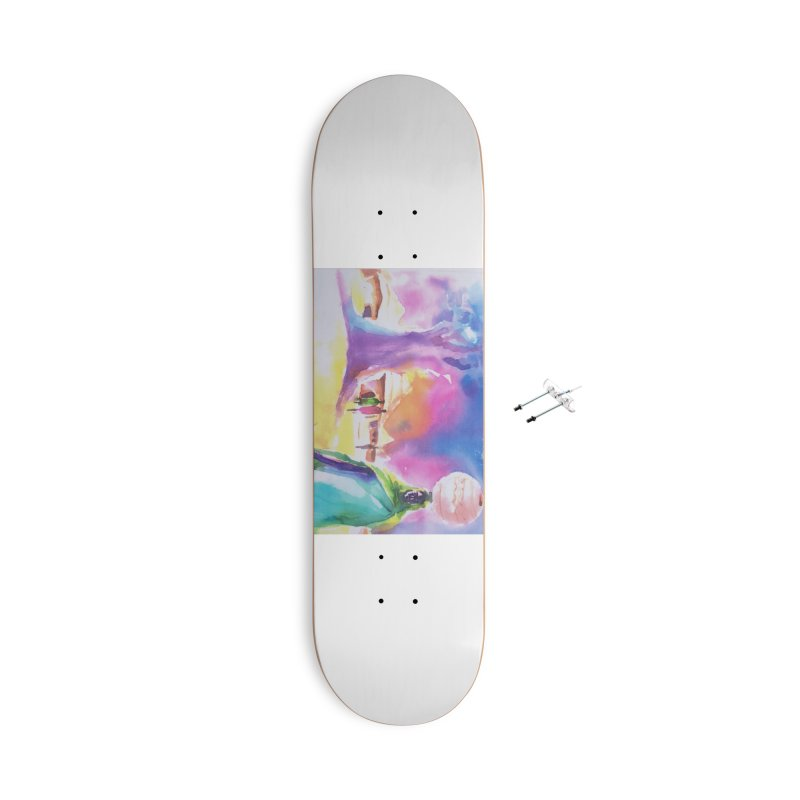 Water water Accessories Skateboard by Symbols of Communicatios