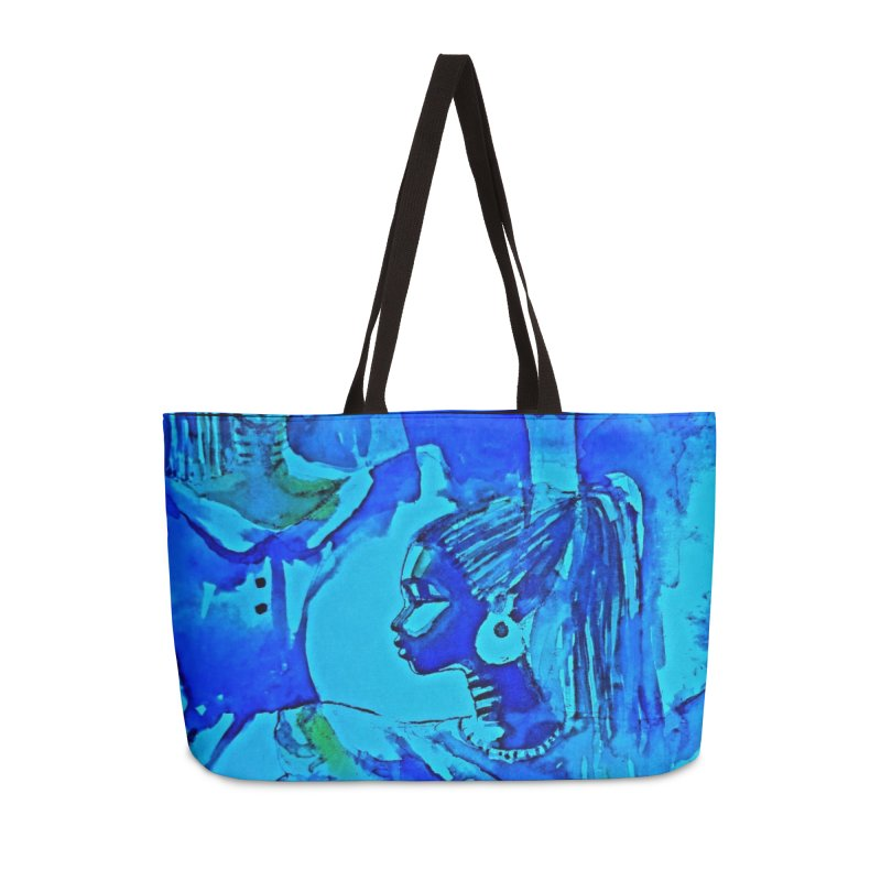 African Sisters Accessories Bag by Symbols of Communicatios