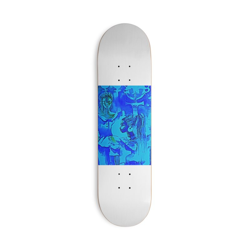 African Sisters Accessories Skateboard by Symbols of Communicatios
