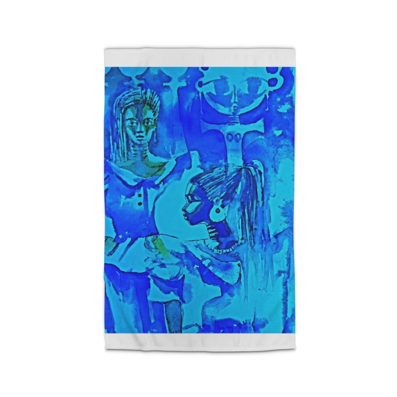 African Sisters Home Rug by Symbols of Communicatios